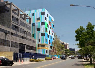 Color-code apartments