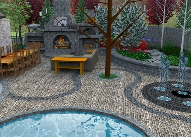 landscape project for a peer