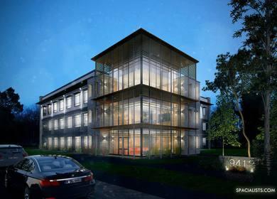 Office Building 3D Rendering