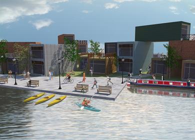 Adaptable Olympic Housing, East London