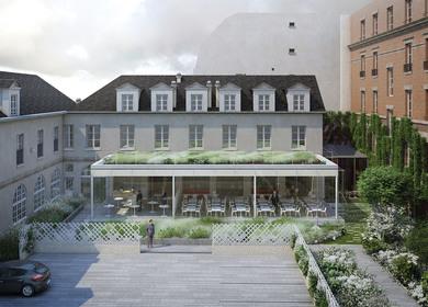 Senate restaurant, Paris