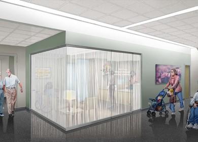 Rush Hospital Interior Renovation