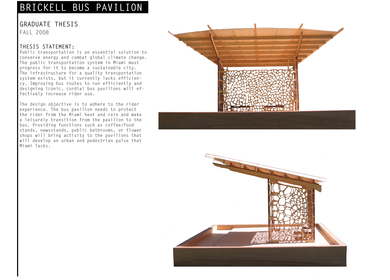 Masters Thesis - Brickell Bus Pavilion