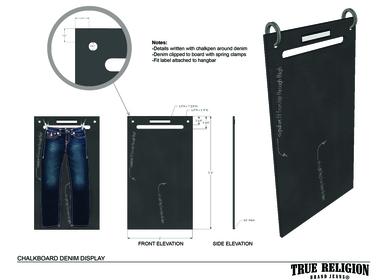 Fixture Design-True Religion Brand Jeans
