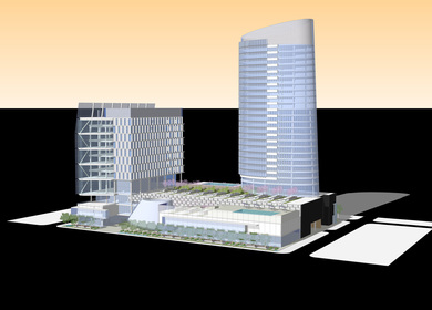 Urban infill project