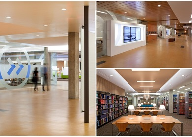 UCLA Charles Young Research Library - LEED Gold (2012) - 60,000 SF Renovation