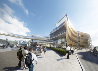 Andy Wen of Aedas-designed Taipei European School Yangmingshan Campus Redevelopment breaks ground