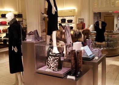 Bergdorf Goodman Anniversary Displays