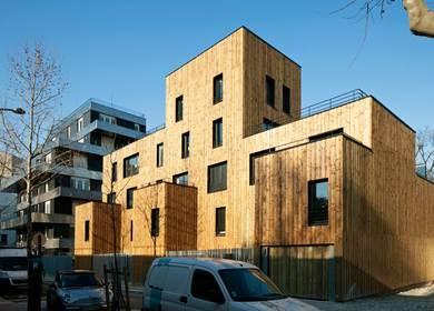 22 housings units, Rebière street in Paris 17 (75) - ZAC Porte Pouchet