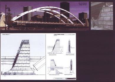 H2L2 (Built) Rochester Bridge Piers