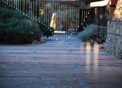 Dropscape at Taliesin West, Arizona