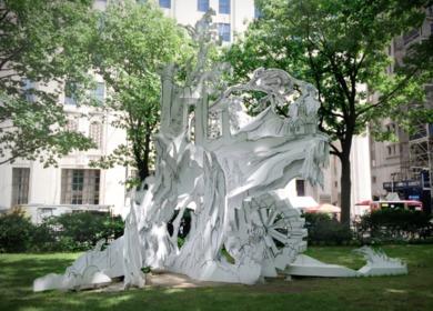 Rachel Feinstein 'Folly' - Madision Square park summer 2014