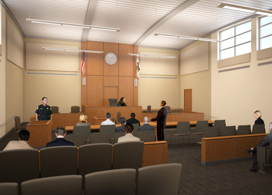 Administrative Office of Courts - San Joaquin County Juvenile Justice Center Addition and Renovation
