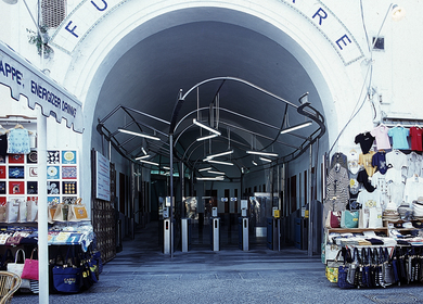 Funicolare di Capri, Stazione inferiore