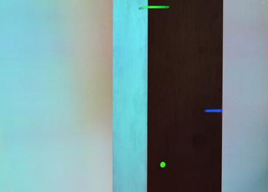 Obelisk vertical art lighting