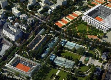 Roland Garros Tennis Stadium