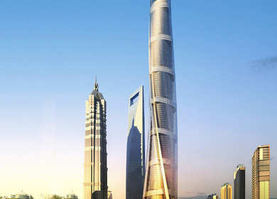 600m Tower - 2nd Tallest Building in the world & tallest building in China