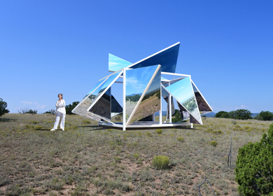 The Folding Landscape Pavilion