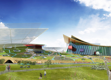 Wind-Wing : Taichung city cultural center