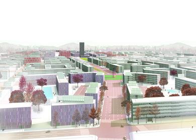 La Marañosa Eco-city masterplan
