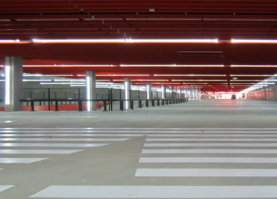 Erasmus University mega garage