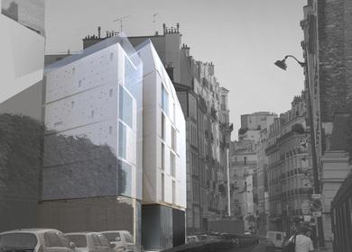 15 logements collectifs - 2 locaux d'activité - Paris