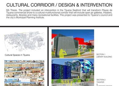 Cultural Corridor / Design and Intervention