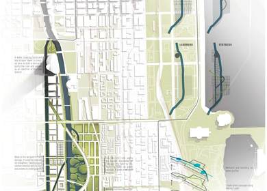 First Prize - Second City's Second Coast: An Intervention Along the Chicago River