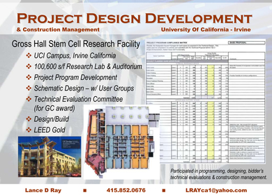 Gross Hall - Stem Cell Research Center Building