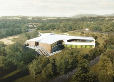 LAVA'S NEW 'Y' SHAPED YOUTH HOSTEL