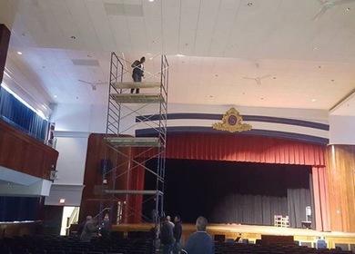 2014 Somerville High School Auditorium Repair