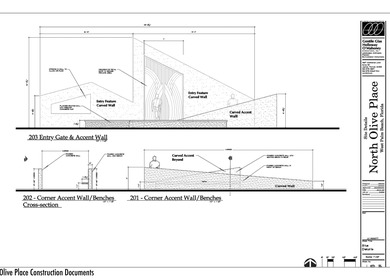 North Olive Place Public/Private Space Design