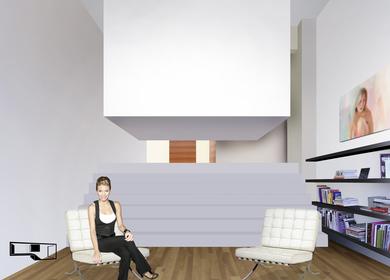 the cuBed loft - mono window concept loft in London