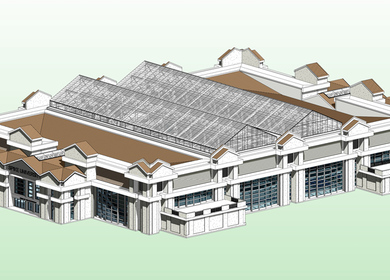 NCAA Sand Volley Ball Competition Stadium – Conceptual