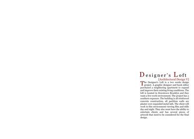 Designer's Loft