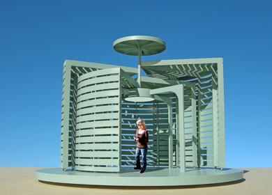 The Spiral Garden Pavilion