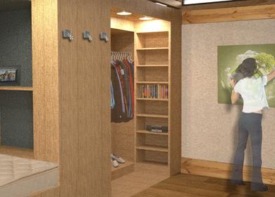 Studio reCOVER: Transitional Housing Unit