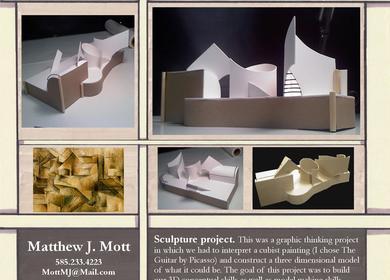 Sculpture project.