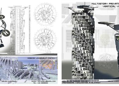 Highrise Vertical Village