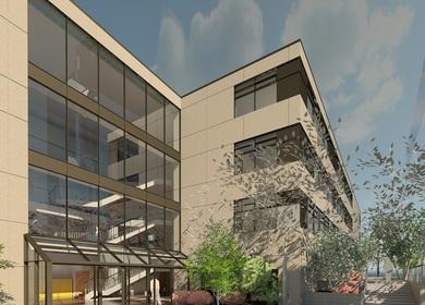 Architectural Science Building of Ryereson University(REVIT), 2013