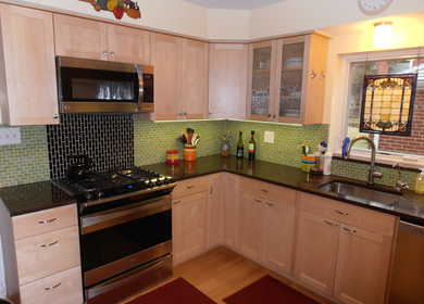 Green Kitchen Renovation