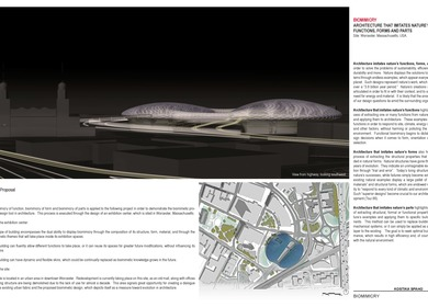 BIOMIMICRY ARCHITECTURE THAT IMITATES NATURE'S FUNCTIONS, FORMS AND PARTS