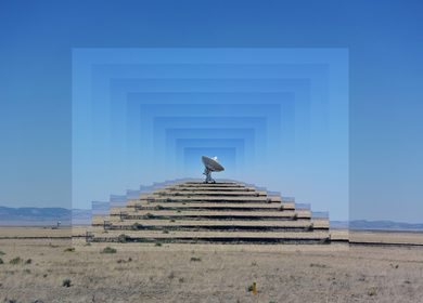 Portals, a series of photomontages.