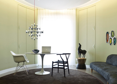 Private apartment in Milan for an art collector