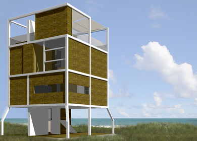Trilogy of Fire Island Homes