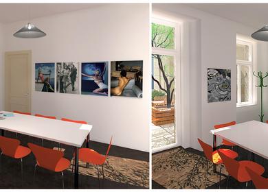 Small office renovation / rebuilding; Prague, CZ