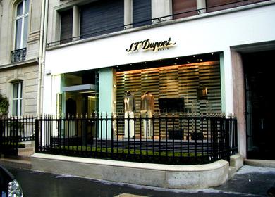 ST Dupont, Avenue Montaigne