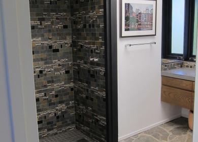 John Sjoberg, Dutch Architect Built, modern bathroom remodel