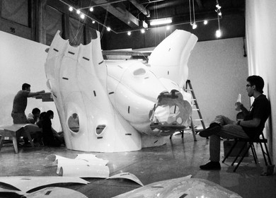 SCI-Arc Gallery Installation
