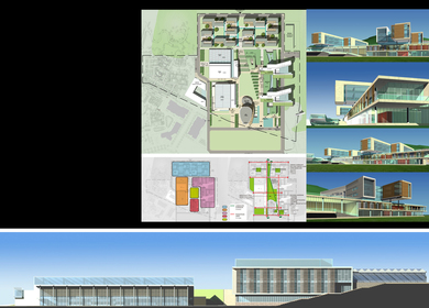 HUIJIA INTERNATIONAL SCHOOL CAMPUS PLANNING
